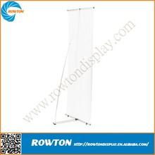 Economic foldable metal show display flex banner stand