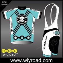 Custom service cycling bib shorts gel silicone/bike kit set/bike wear with bib shorts