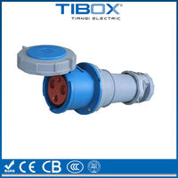 IP67 230V electrical power cable waterproof male female connector