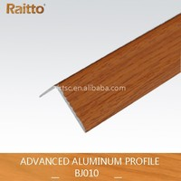 Advanced Small Wood Grain L--shaped Aluminum profile