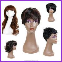 BSD black natural wave belle madame german synthetic hair wig