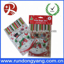christmas silicone cooking bag with twist ties
