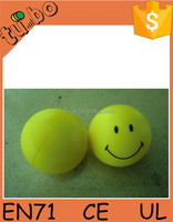 2015 New Arrival Cheap High Quality Cute PU foam stress ball / smile face stress ball for sale for promotional made in china