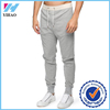 Yihao 2015 Men's 100% cotton fleece loose fit custom jogger pants wholesale tapered plain sweat pants