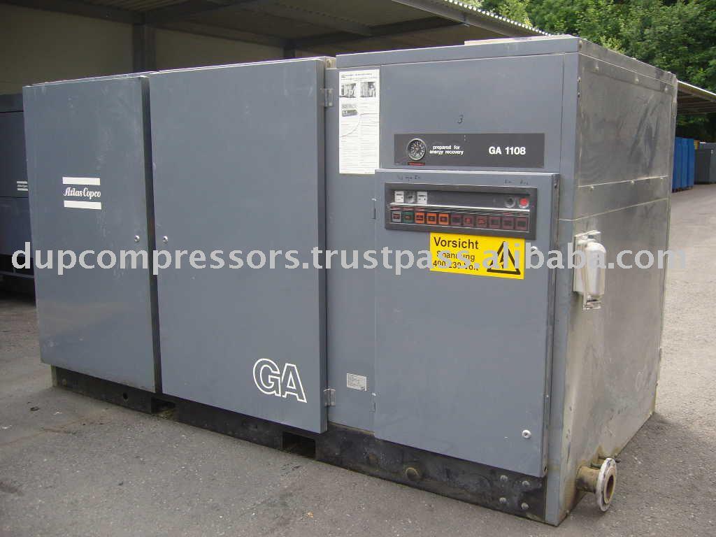 Used Air Compressors Atlas Copco Ga 1108 - Buy Compressor,Atlas Copco