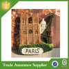 Hot France tourist souvenir resin 3d fridge magnets