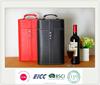 2015 New Stylish Leather Wine Case carrier, wine bottle case
