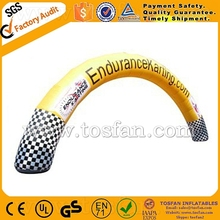 Custom made advertising inflatable arch F5019