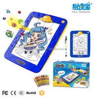 Children drawing board, Drawing instruments and materials Promotioal toys for kids, 220 x 202 x 23mm