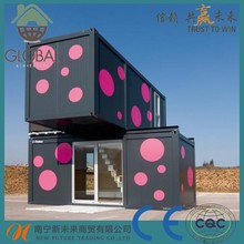 China manufacturer Panelized modular prefabricated container house with high quality