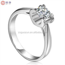Exquisite 18K Ring Jewelry Diamond Wedding Fashion Ring Gift