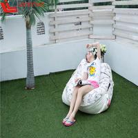 outdoor beach chair cushion water resistant,adult bath seat FELT cushion,Outdoor leisure furniture beach bean bag daybed FAT 05