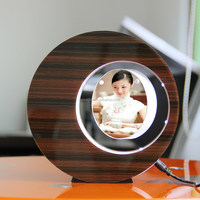 LED suspending in the air magnetic levitation photo frame gift wrapping paper in india