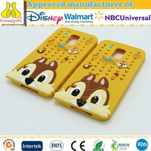 High Quality Cute Cartoon 3d TPU Phone Case Fashion Mobile Phone Case for Samsung