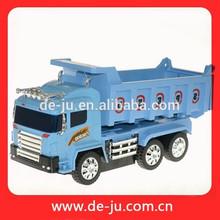 Diseño encantador nueva artículos de juguete para niños de dibujos animados de camiones azul alta velocidad coches de juguete