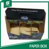 SIX PACK BEER WINE AND CHAMPAGNES BOX FOR CARRYING