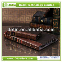 Vintage Classic Book Series Vegan Leather Portfolio Case for Apple iPad Mini