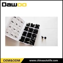 120pcs plastick box auto fastener plastic clips for car