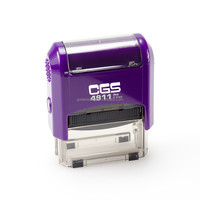 rubber stamp for self-inking stamps CGS 4911 trodat stamp
