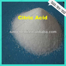 Food Grade high purity citric acid monohydrate