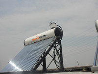 Unpressurized Bearing Type of Solar Water heater,solar installations for heating