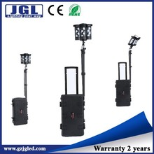 led construction working light wireless floodlight remote area lighting 12000Lm rechargeable safety light with case