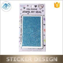 Acrylic made in china rhinestone sticker,DIY mobile phone decoration sticker