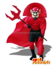 Hot Sale Factory Direct Sale Red Hunter Mascot Costume Party Cosplay Fancy Dress Costume