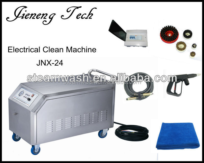 hot shot steam cleaner how to use