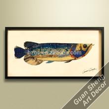 Estilo contemporaneo, Mayorista de los marcos cubicos de azul pez dragón