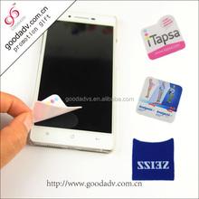 Guangzhou business gifts Cartoon screen cleaner sticker/ sticker mobile screen cleaner
