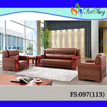 Foshan PVC LEATHER sofa / hotel SOFA set FS097(113)
