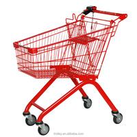 Best Selling Metal Supermarket Shopping Trolley