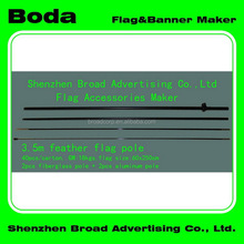 Top quality elaborate flags with aluminum flagpole