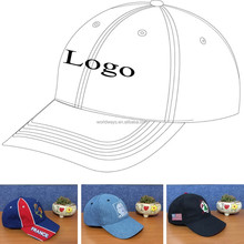 Embroidered logo small order accept custom baseball cap and hat