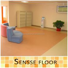 Hospital Grade Vinyl Flooring/Commercial PVC Vinyl Floor/ Vinyl Flooring Roll