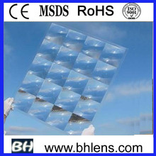 optics fresnel lens solar concentrator , soalr fresnel lens