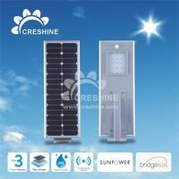 2015 High Lumen Good Quality Lamp Street Light LED Solar Powered Automatic Control