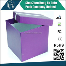 Sliding paper packaging boxes for appparel from dongguan