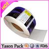 Yason custom wine bottle sticker