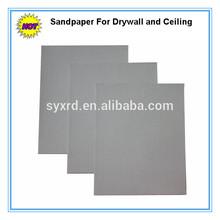 9x11 230x280mm 120-600 grano hojas de óxido de aluminio papel de lija para Drywall