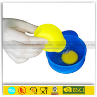 Home Kitchen Tool Silicone Egg White Separator Yolk Extractor Divider