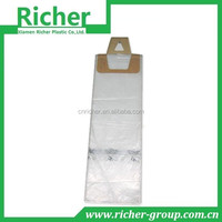 Paper header card clear PE newspaper bags popular in the USA