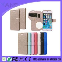 Fashion Custom Elegant Lady Leather Flip Cover Mobile Phone Case For Iphone 5s