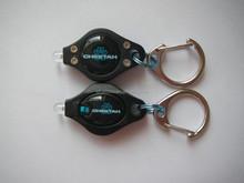 plastic mini led keychain flashlight keychain
