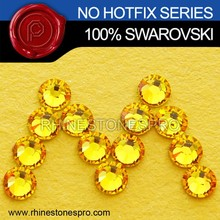 High Quality Swarovski Elements Light Topaz (226) 16ss Flat Back Crystal Rhinestone