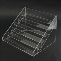 Top Quality Removable Acrylic Nail Polish Rack Display 6Layers Can Put 48 Bottles