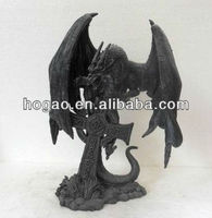 resin dragon/Chinese dragon sculpture/dragon ornaments