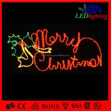 Rope Light Christmas 2015 high-simulation led holiday arch door motif lighted