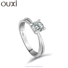 OUXI Cheap New Model women wedding ring,silver ring,fashion engagement ring